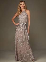 mori lee 20475 high neck sequin floor length bridesmaid dress