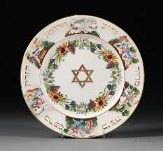 seder plate for sale large capo di monte porcelain passover seder plate sale number