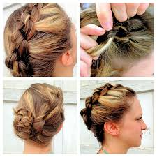 updos for short with braids updo braids hairstyles for short