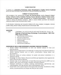 lab technician resume medical lab technician resume samples