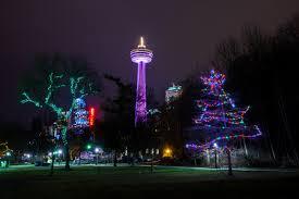 niagara falls christmas lights niagara falls winter festival of lights set to begin sober julie