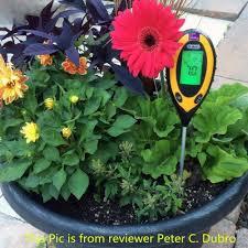 dr meter moisture sensor meter soil water monitor garden