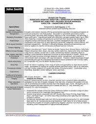 executive resume design click here to this associate creative director resume