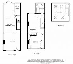 terraced house floor plans 2 bedroom mid terraced house for sale in 49 alldis street