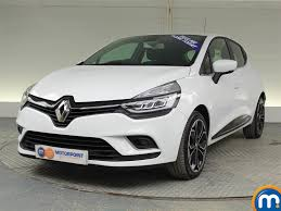 used renault clio white for sale motors co uk