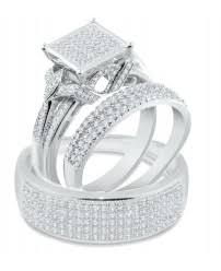 Wedding Ring Trio Sets by Trio Wedding Set Trio Wedding Ring Sets From Midwest Jewellery