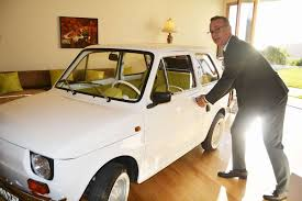 old fiat polish town buys tom hanks an old fiat 126 as a birthday present