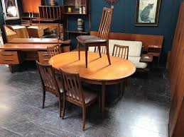 large extending dining table large extending dining table 6 chairs by g plan retro vintage mid