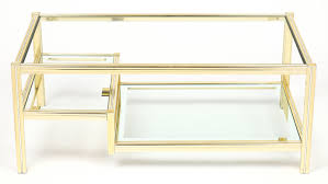 coffee table surprising brass glass coffee table ideas antique