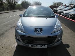 used blue peugeot 207 for sale torfaen