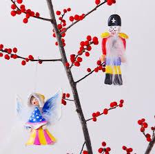 diy clay nutcracker ornaments handmade