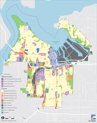 map use future land use implementation city of tacoma