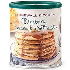 amazon com stonewall kitchen blueberry pancake and waffle mix