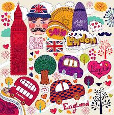 London Wall Murals Colourful London Wallpaper Wall Mural Wallsauce Usa