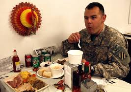 thanksgiving day celebrated in america iraq afghanistan