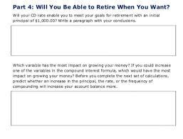 plan ahead worksheet let u0027s say i wanted to retir chegg com
