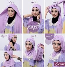tutorial jilbab jilbab cara memakai jilbab pashmina untuk pesta kiat cantik