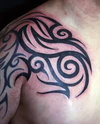 chest and shoulder tattoo download tribal tattoo chest and arm danielhuscroft com
