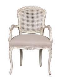 Classic Armchair Classic Armchair Linen Wooden Victoria Blanc D U0027ivoire