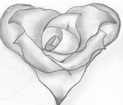 a drawing of a rose how to draw a rose bud rose bud step step