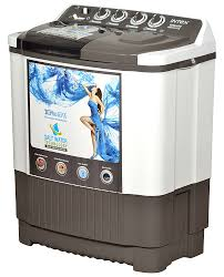 intex 7 6 kg semi automatic top loading washing machine wms76st