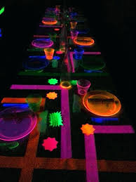 neon decoration ideas drone fly tours