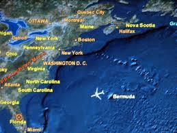 Bermuda Triangle Map The Bermuda Triangle By Maria Moreno