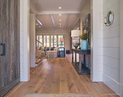 interior stunning image of rustic wide plank white oak wood