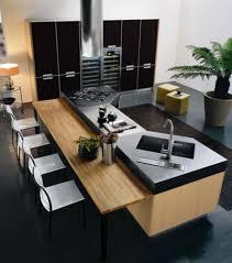 Modern Kitchen Island Designs Minimalistic Modern Luxury Kitchen Island Design With Wooden