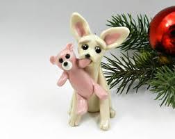 chihuahua ornament etsy