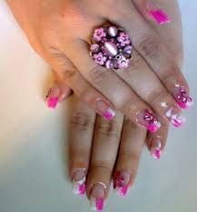 beautiful nails and color easy steps acrylic nails
