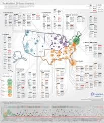Zip Map Richest Zip Codes In America In One Map