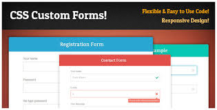 responsive design css responsive css forms set validation by d atanasov codecanyon