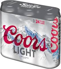 coors light 36 pack price coors light grey and black ringer tee shirt walmart com