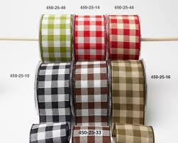 wired ribbon wholesale 2 5 inch check ribbon wired may arts wholesale ribbon