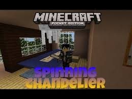 Chandelier Game Minecraft Pe How To Make Spinning Chandelier Youtube