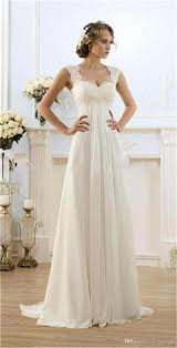 empire wedding dress lace chiffon empire wedding dresses 2017 sleeveless a line