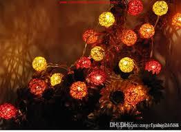 surprise de noël party decoration globe string lights led