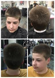 8 haircut look haircut using clippers over clipper comb on sides and 1 clipper