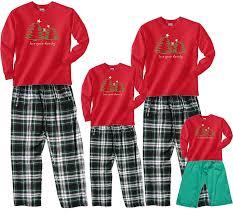 trees cotton pajama set