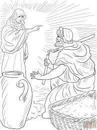 duke the great pie war bible story coloring pages for with gideon