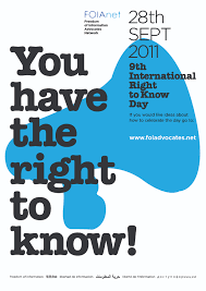 freedom of information advocates network international right to