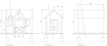playhouse floor plans diy dream playhouse detailed plans to get the look destination
