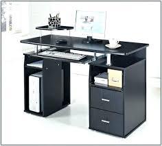 staples glass desk black glass corner desk staples computer desk