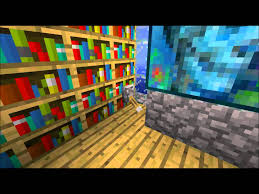 Minecraft Secret Bookshelf Door Minecraft Hidden Bookcase Door Pistons Youtube