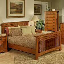 solid wood bedroom furniture have wood bed frame between
