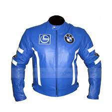 leather racing jacket bmw leather jacket racing blue motorcycle jacket