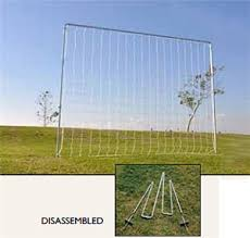 fold a goal kickback soccer goal backyard practice soccer