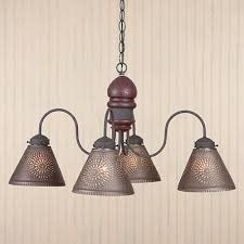 Punched Tin Pendant Light 49 Best Punched Tin Lighting Images On Pinterest Chandelier
