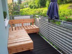bank balkon balkonbank selber bauen diy sitzbank anleitung bilder bath